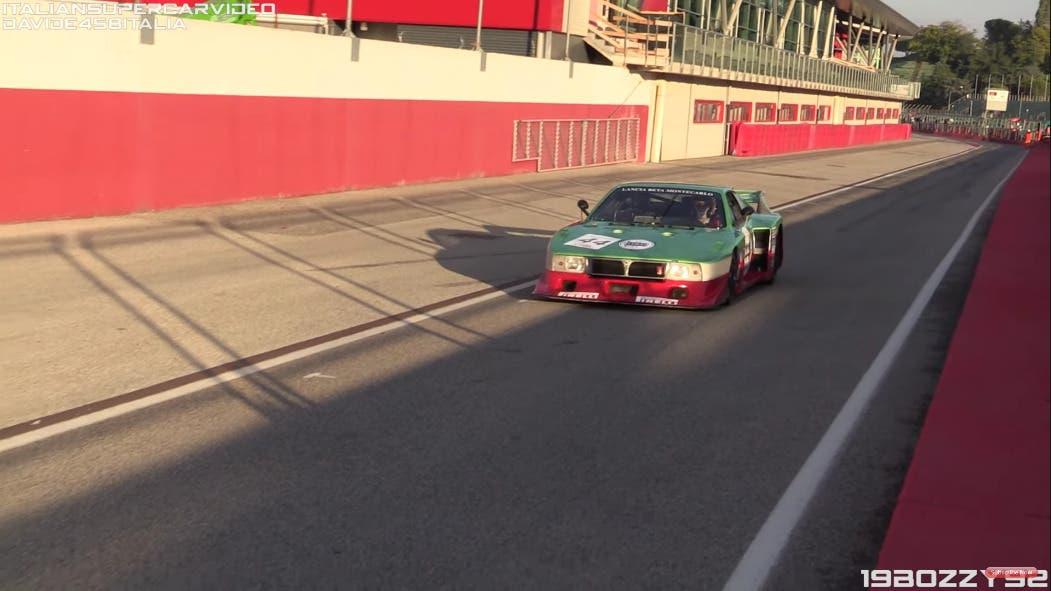 Lancia Beta Montecarlo Turbo pista