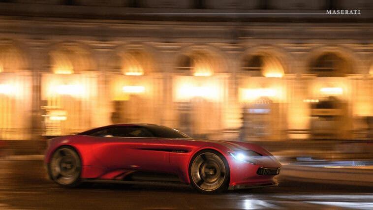 Maserati concept elettrico