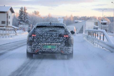 Nuova DS 4 foto spia neve
