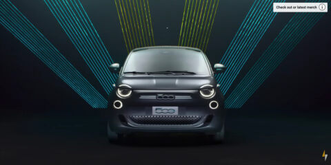 Nuova Fiat 500 Elettrica Fully Charged Show