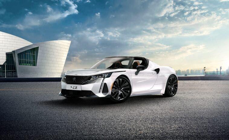Nuova Peugeot RCZ render