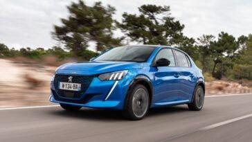 Nuova Peugeot e-208 Auto elettrica dell'anno Portogallo