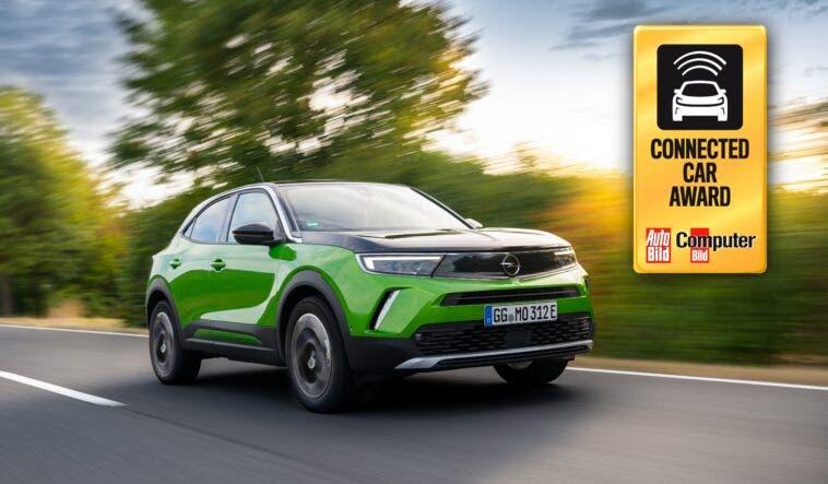 Nuovo Opel Mokka-e Connected Car Award 2020