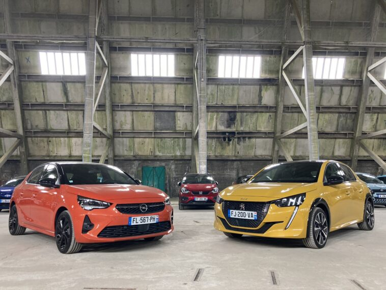 Opel Corsa e Peugeot 2008