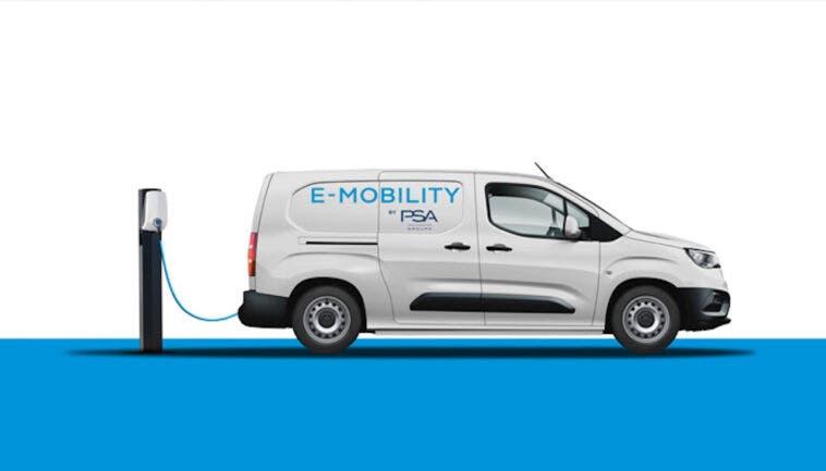 PSA furgoni compatti elettrici 2021