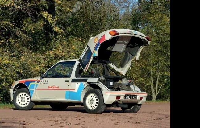 Peugeot 205 T16 del 1985