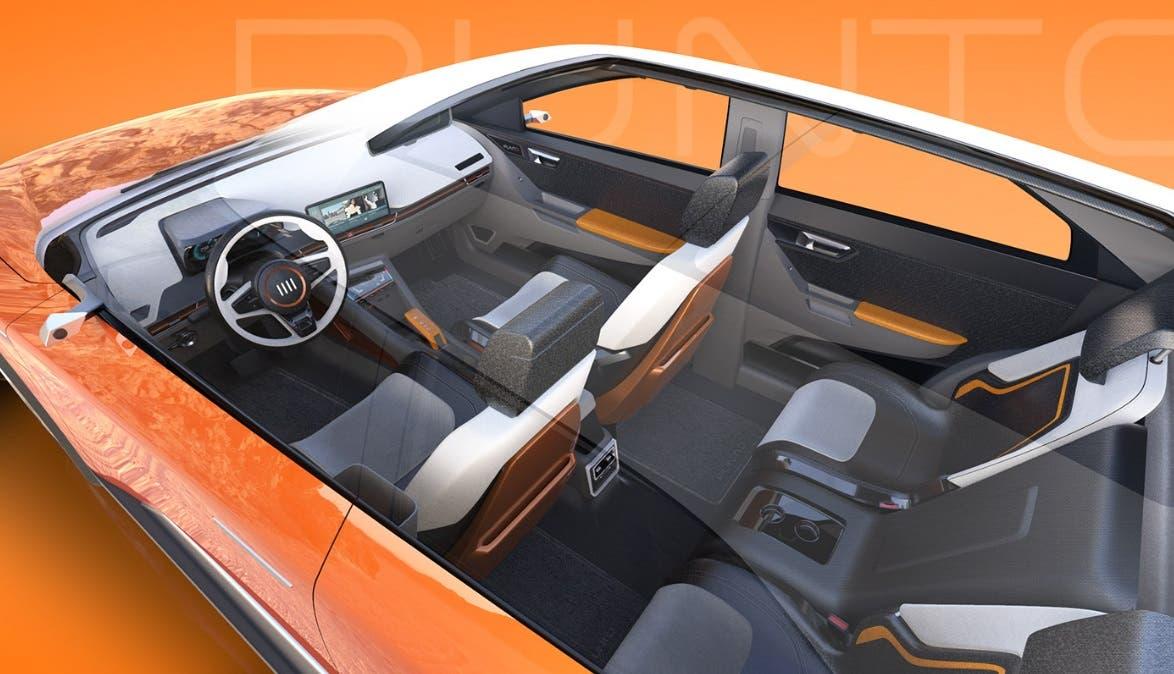 Fiat Punto Concept 2022 Interni