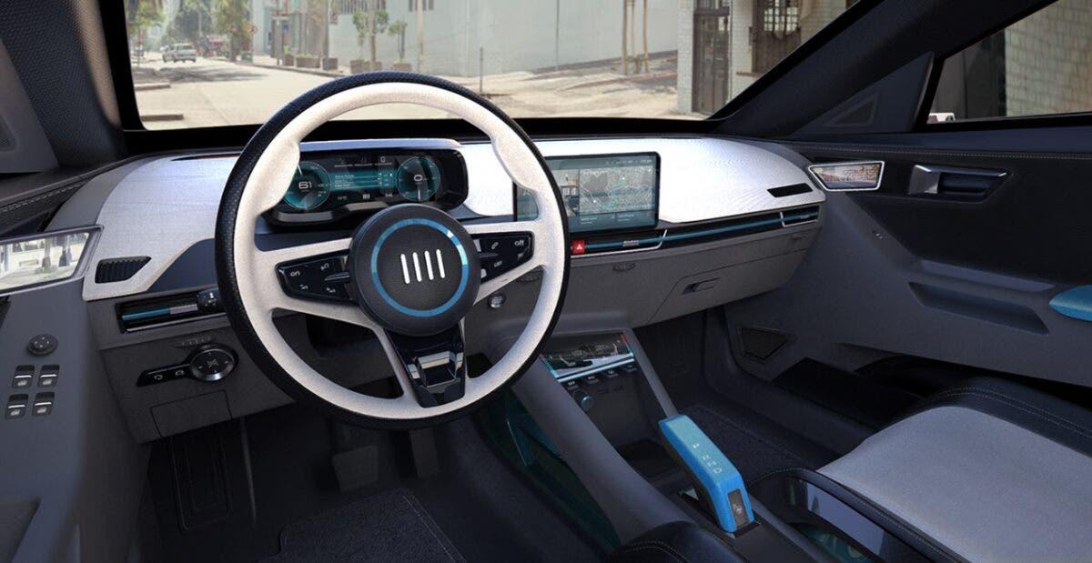 Fiat Punto Concept 2022 Interni Cruscotto