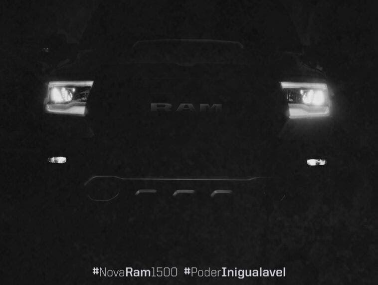 Ram 1500 2021 teaser Brasile