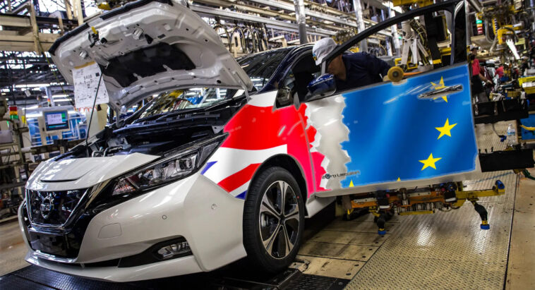 Regno Unito settore auto danneggiato