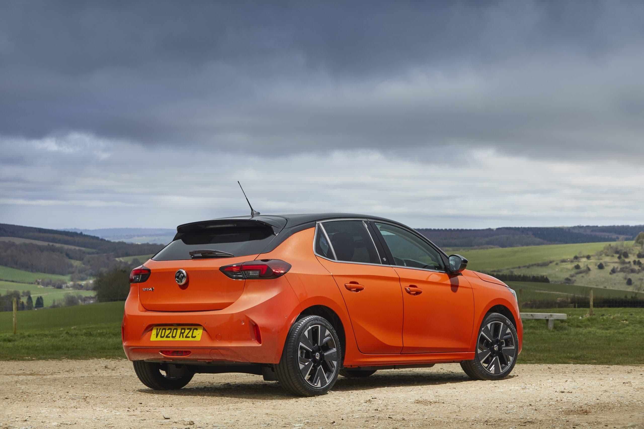 Vauxhall Corsa-e offerta Regno Unito