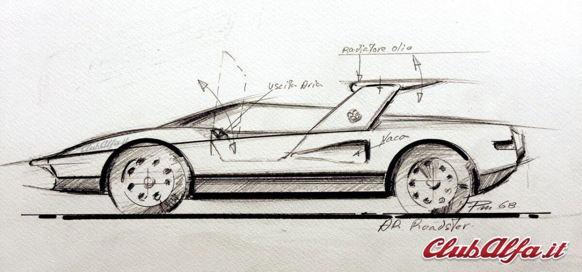 Alfa Romeo P33 Roadster - Paolo Martin