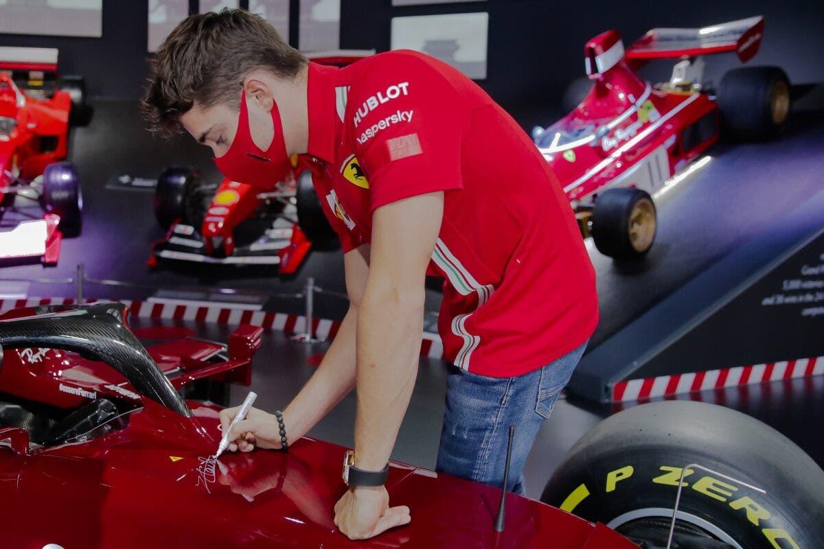 Leclerc Asta Ferrari