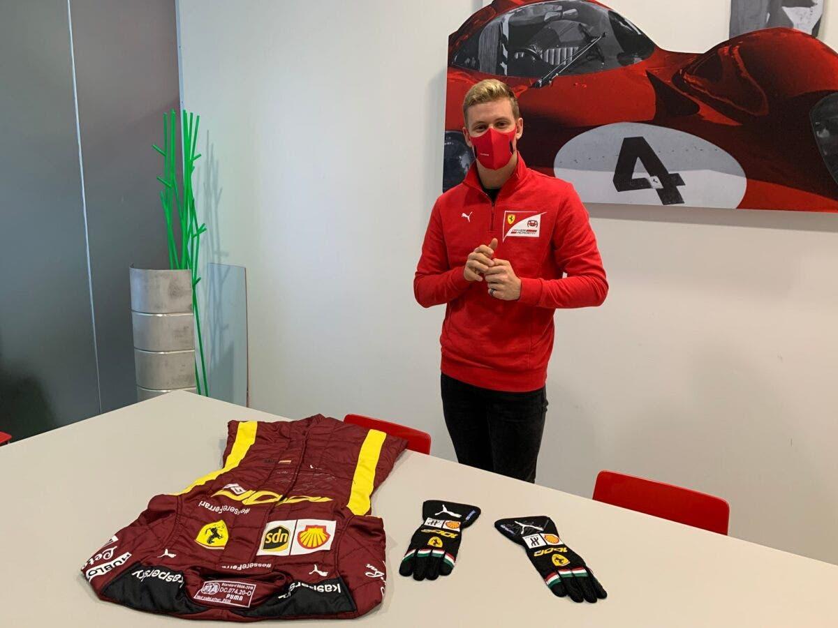 Schumacher Asta Ferrari