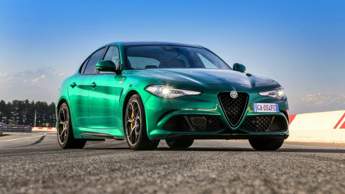 Alfa Romeo Giulia Quadrifoglio Verde Montreal