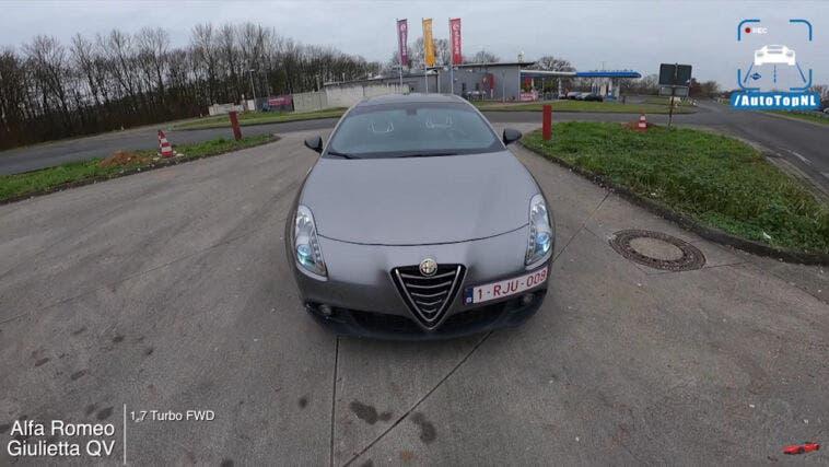 Alfa Romeo Giulietta Quadrifoglio test Autobahn