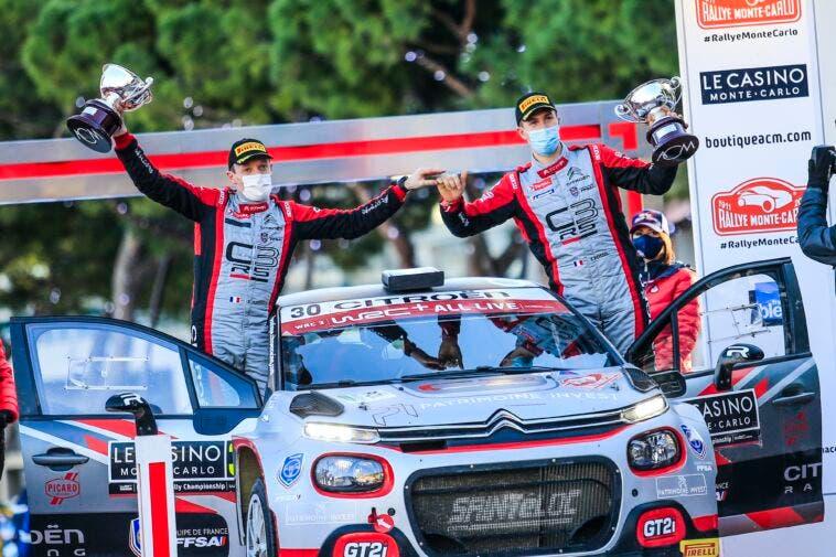Citroën C3 Rally2 Rally di Monte Carlo