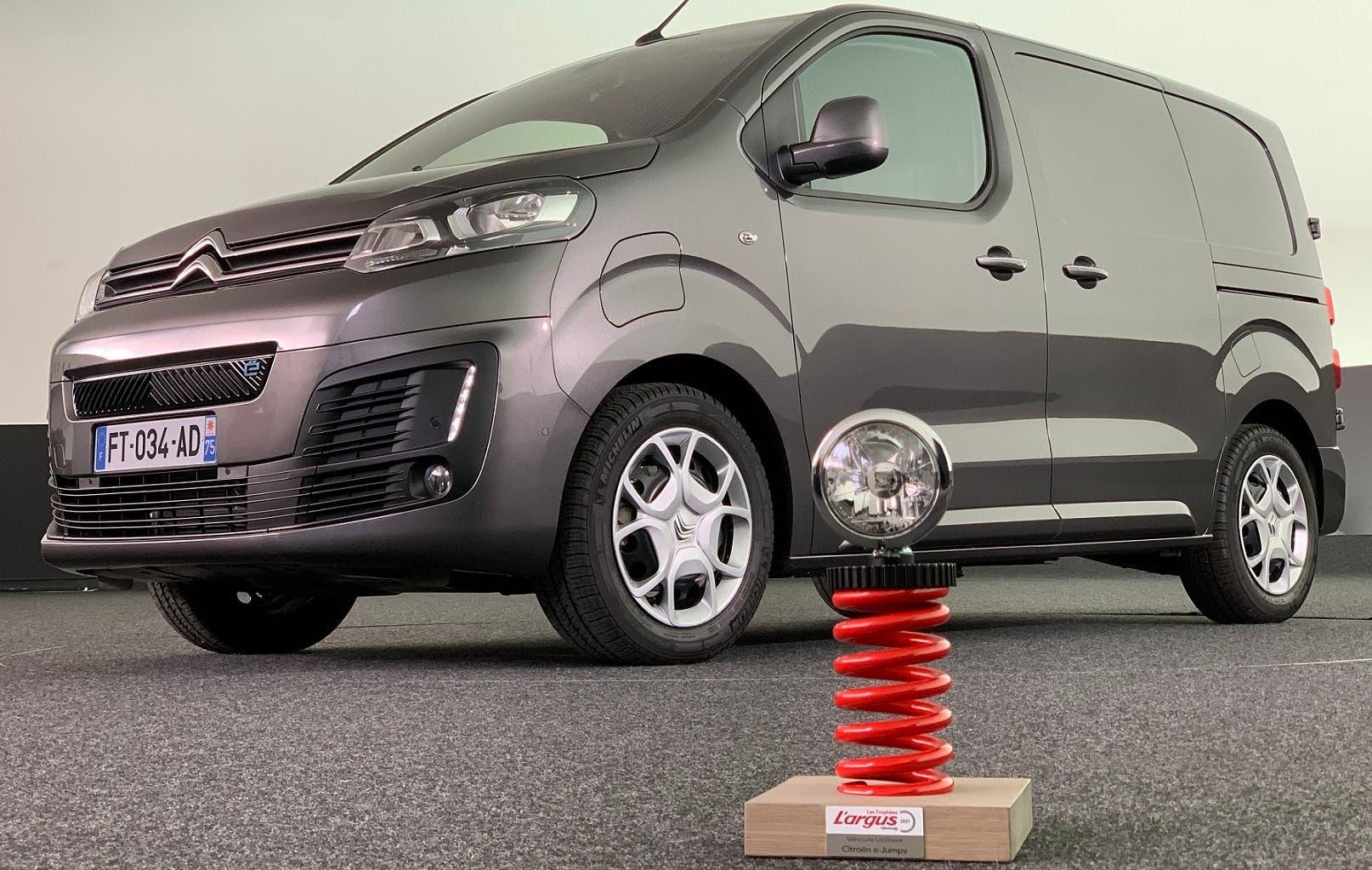 Citroën e-Jumpy Van of the Year 2021