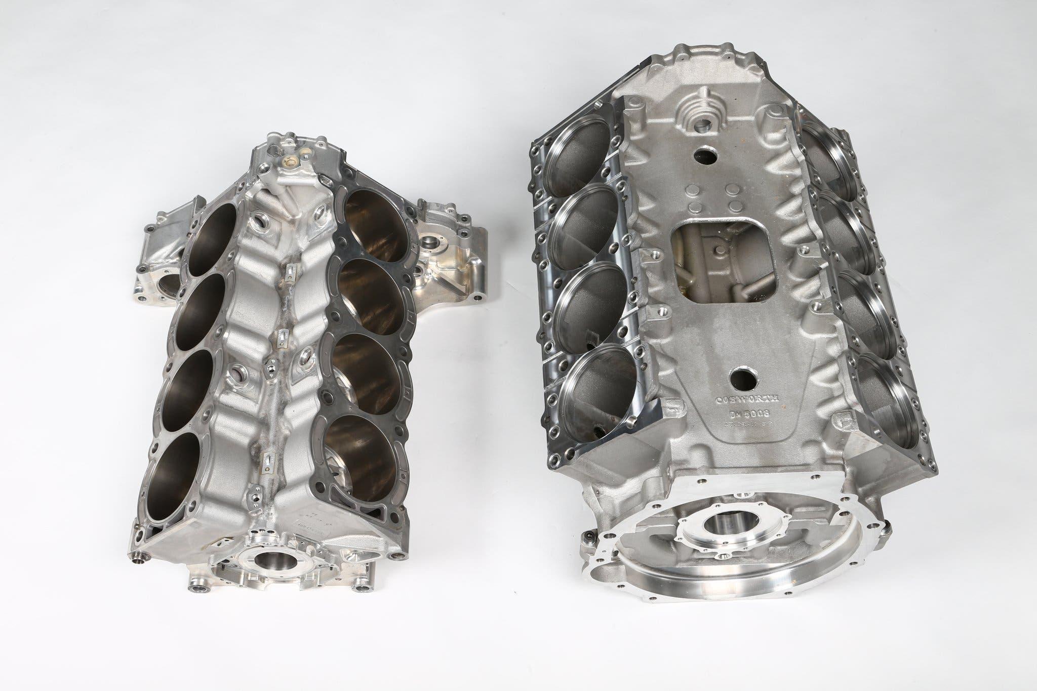 Cosworth CA vs Cosworth DFV motori F1
