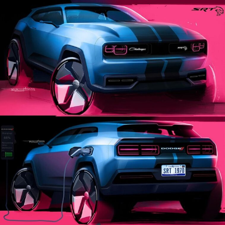 Dodge Challenger Electric SUV
