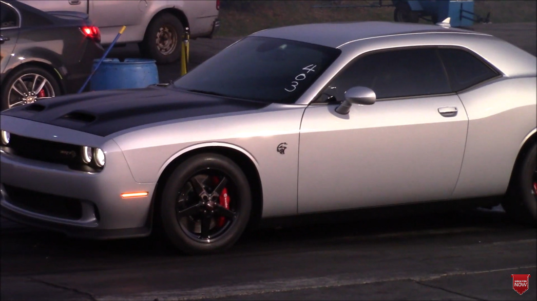 Dodge Challenger SRT Hellcat Redeye modificata