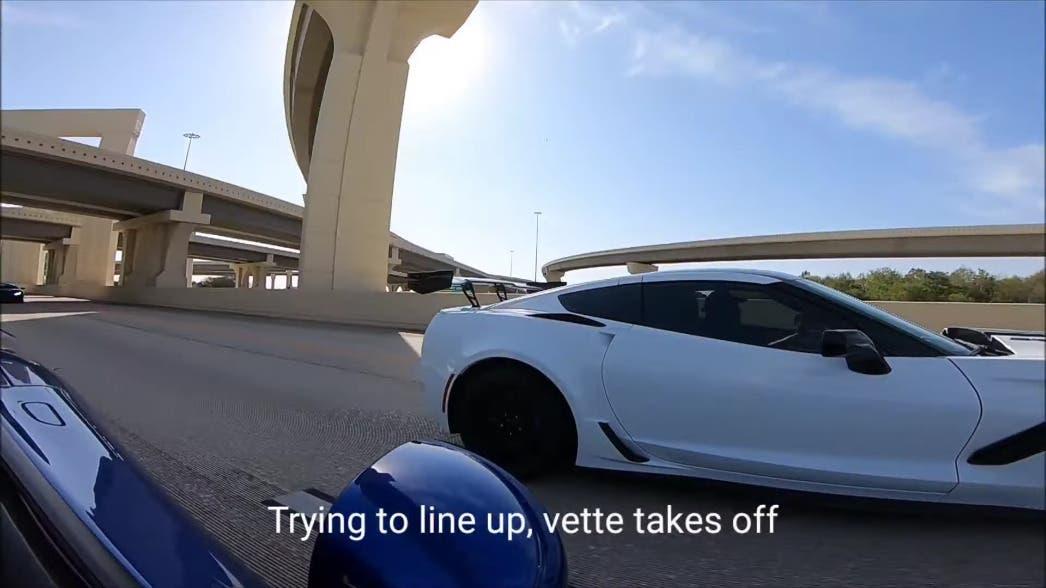 Dodge Viper modificata vs Corvette ZR1