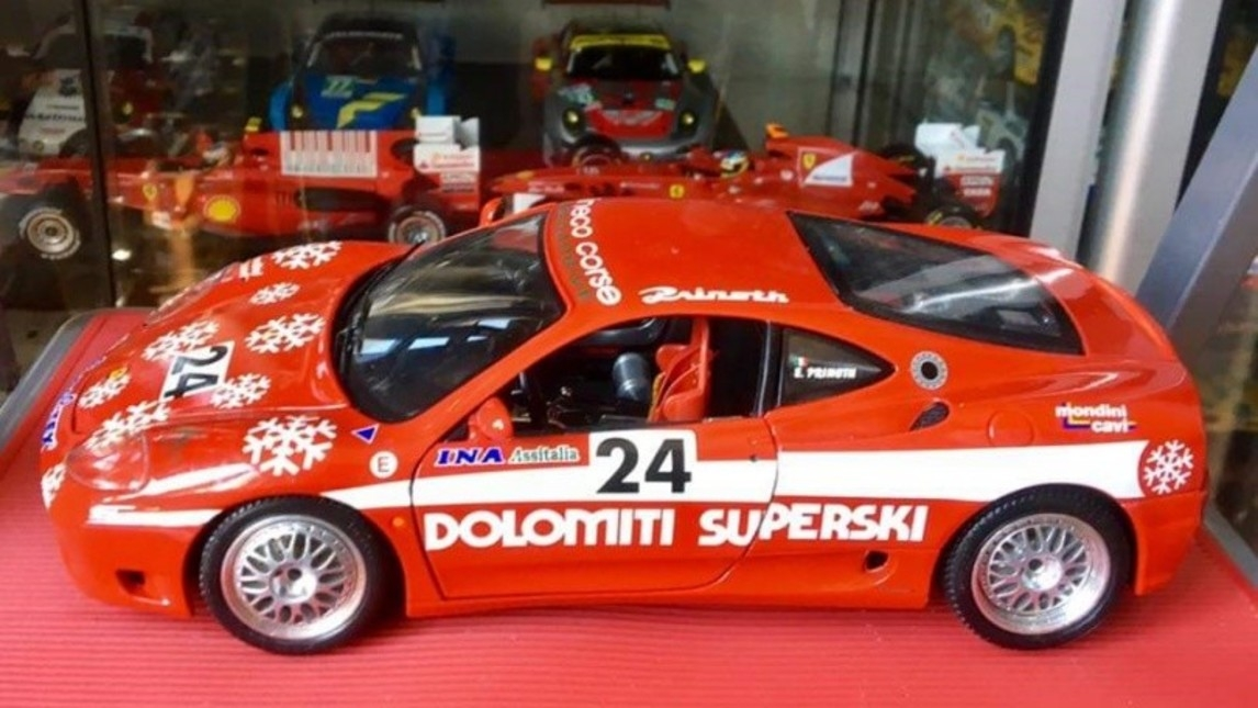 Ferrari 360 Modena GT Dolomiti Superski ritrovata