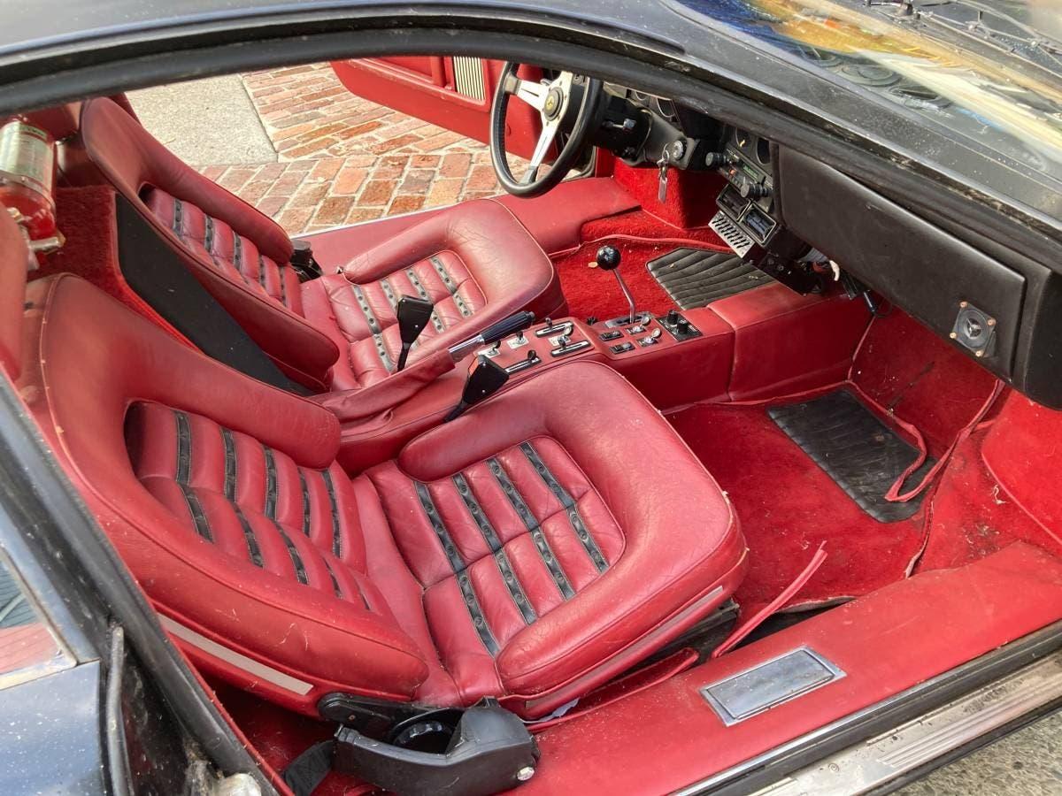 Ferrari 512 BB 1980 barn find