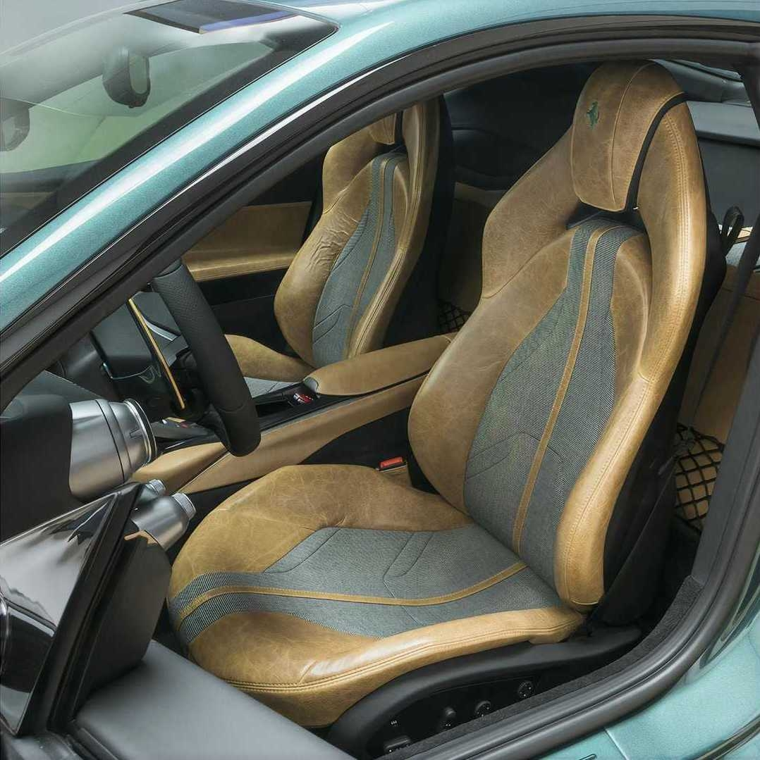 Ferrari 812 Superfast Verde Pino Tailor Made