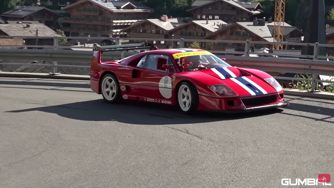 Ferrari F40 LM street legal