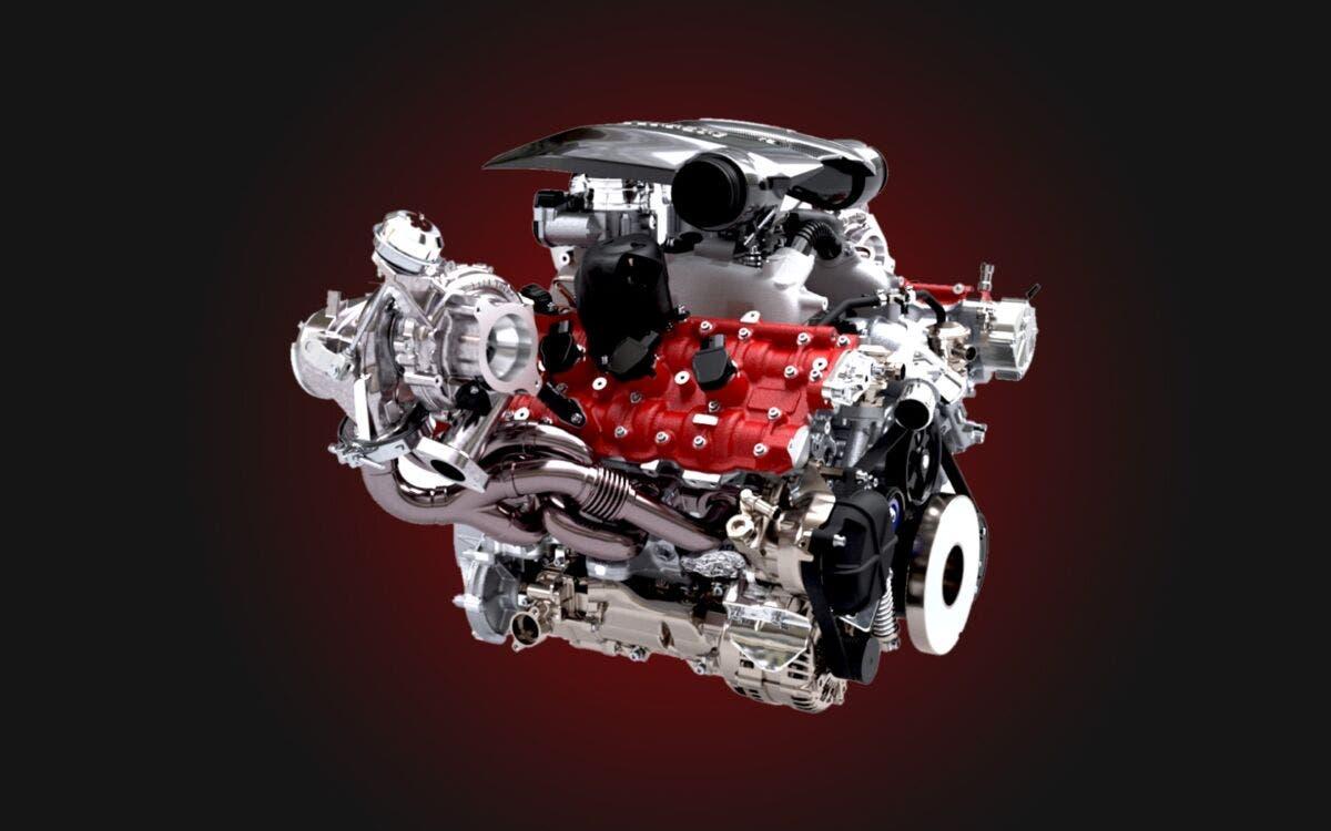 Ferrari F8 Tributo motore V8