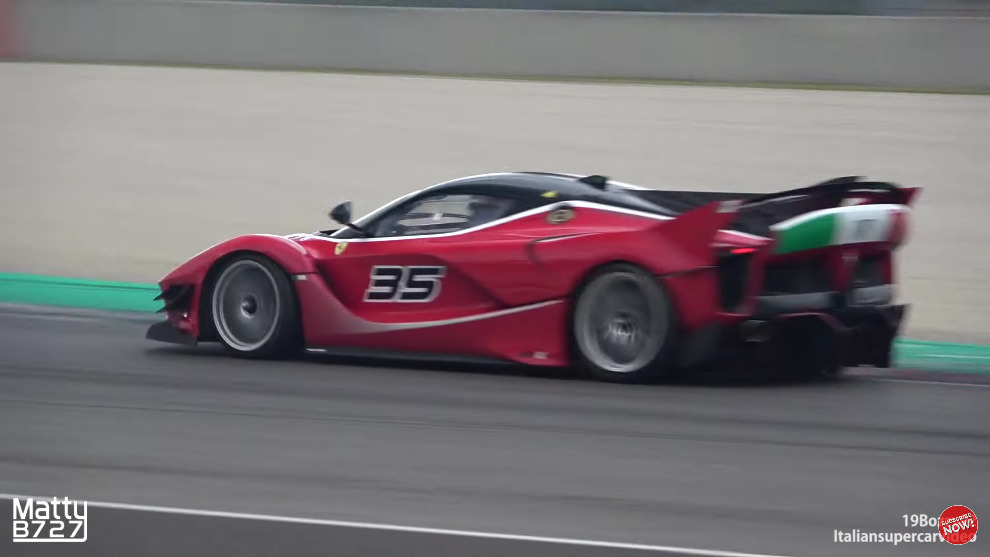 Ferrari FXX-K Evo Mugello