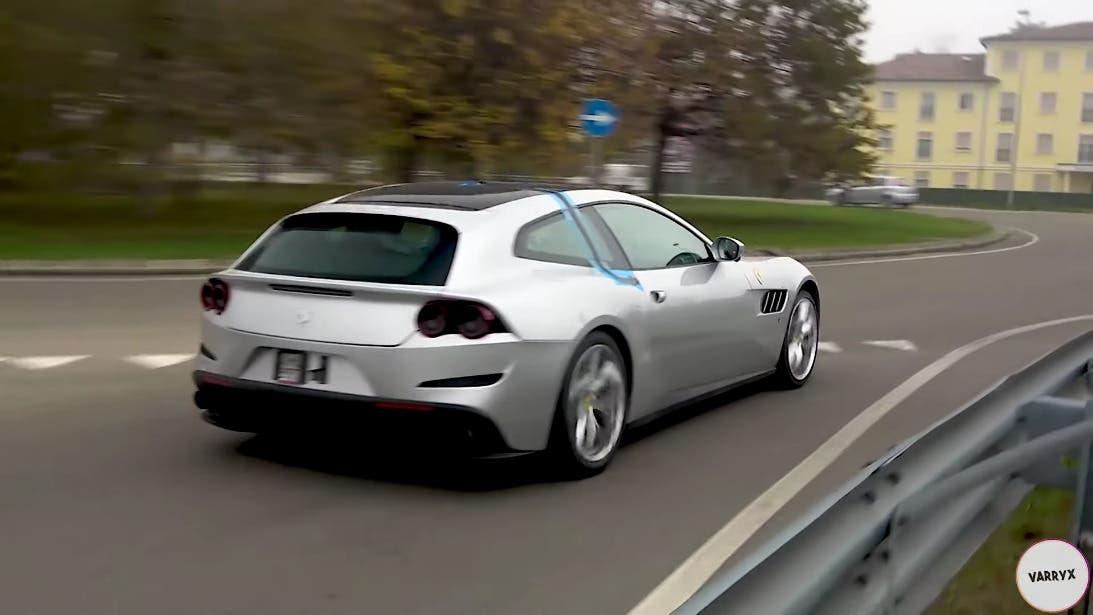 Ferrari GTC4Lusso insolito prototipo