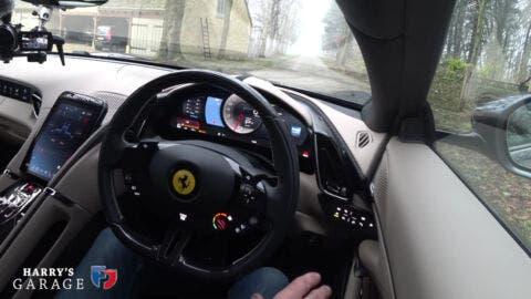 Ferrari Roma Harry Metcalfe