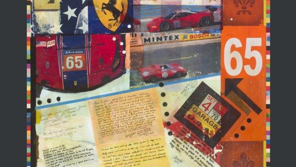 Ferrari in art - the sporting legacy Bernie Ecclestone