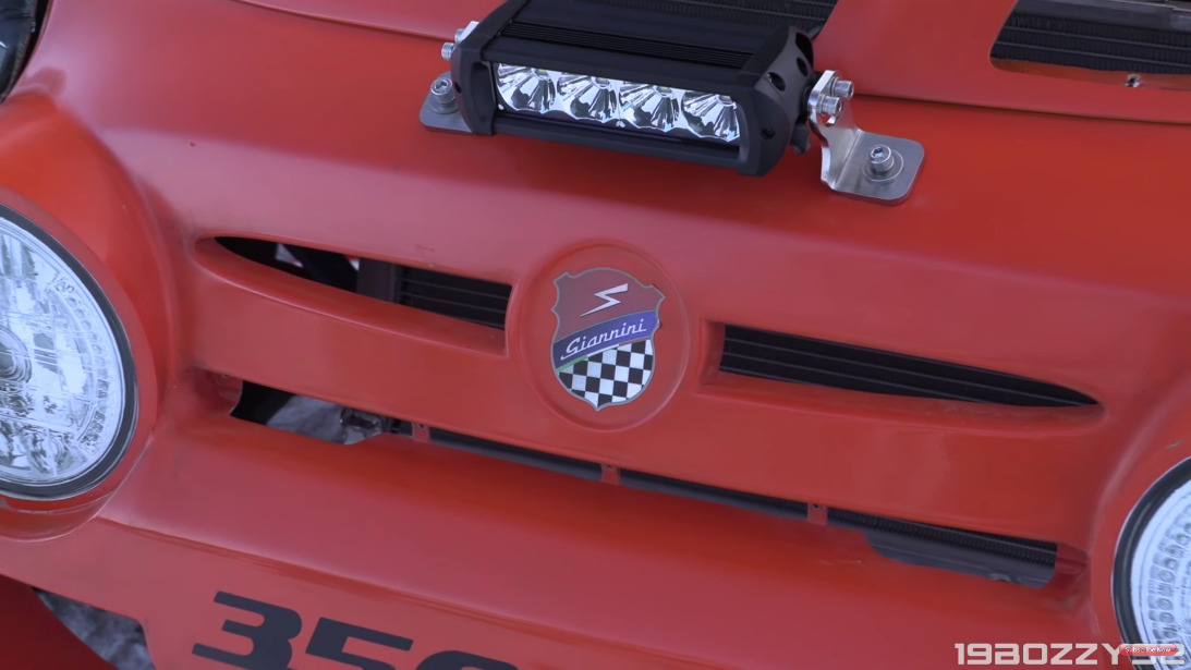 Fiat 500 Giannini 350 GP4