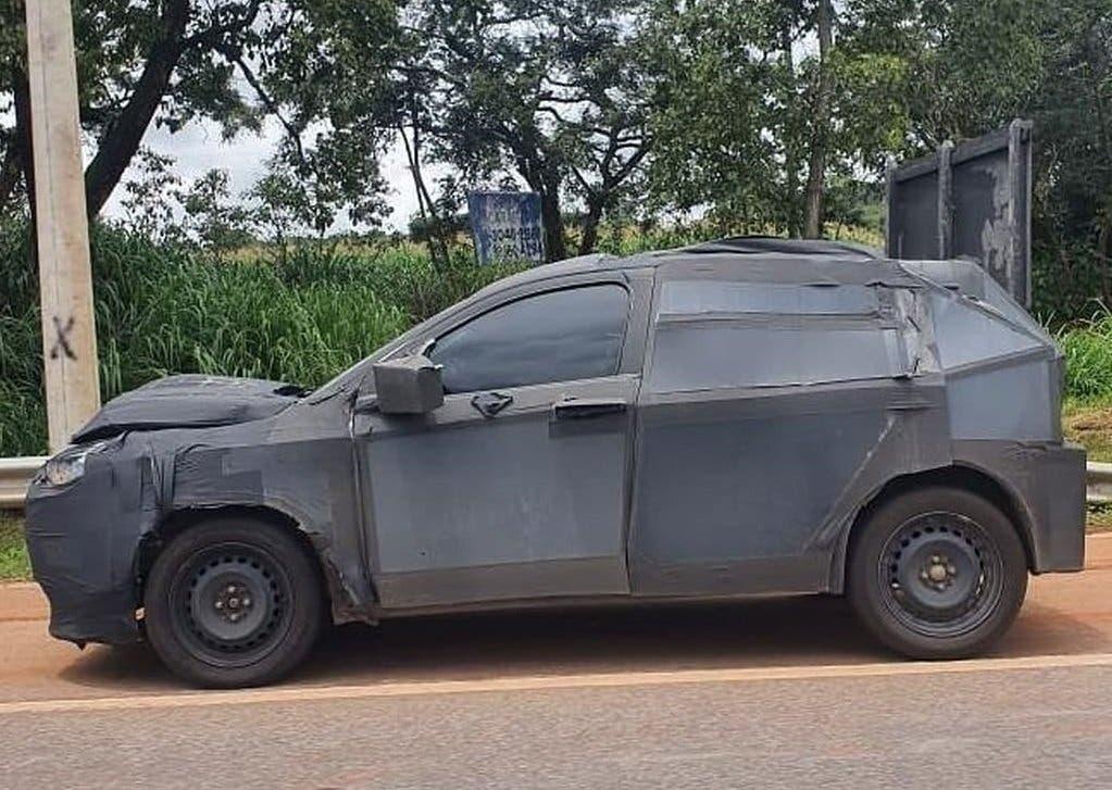 Fiat SUV compatto prototipo Minas Gerais