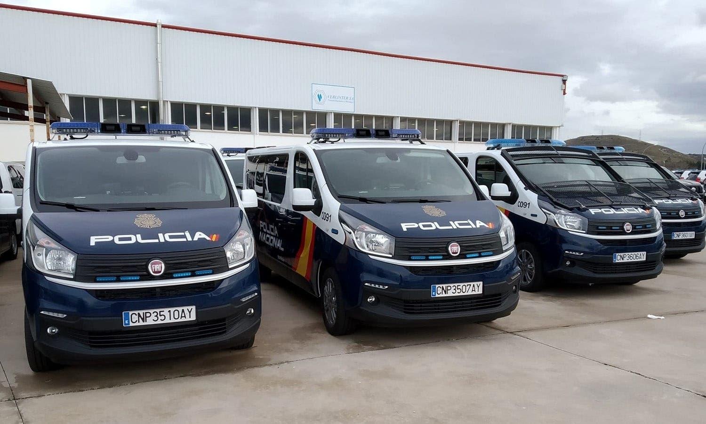 Fiat Talento Combi polizia di stato spagnola