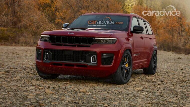 Jeep Grand Cherokee L Trackhawk render