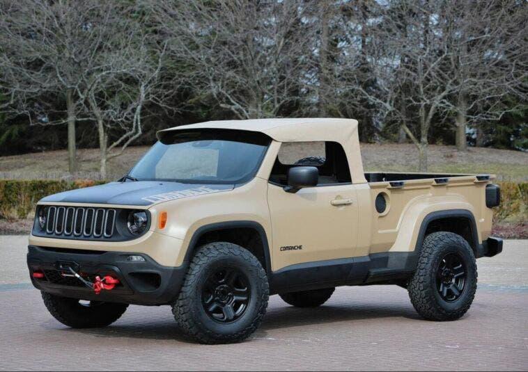 Jeep Renegade pickup
