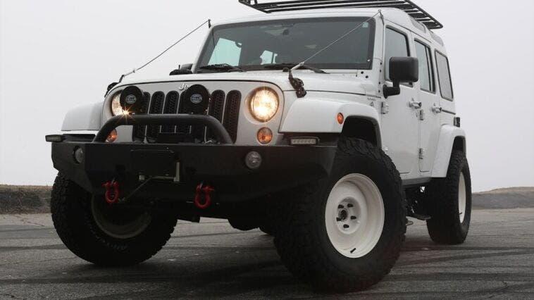 Jeep Wrangler True North Edition