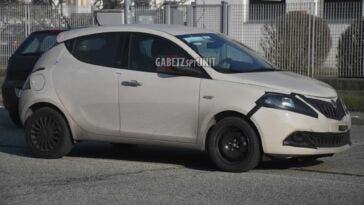 Lancia Ypsilon 2021 foto spia
