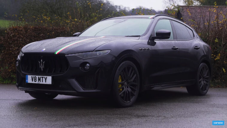Maserati Levante Trofeo Carwow