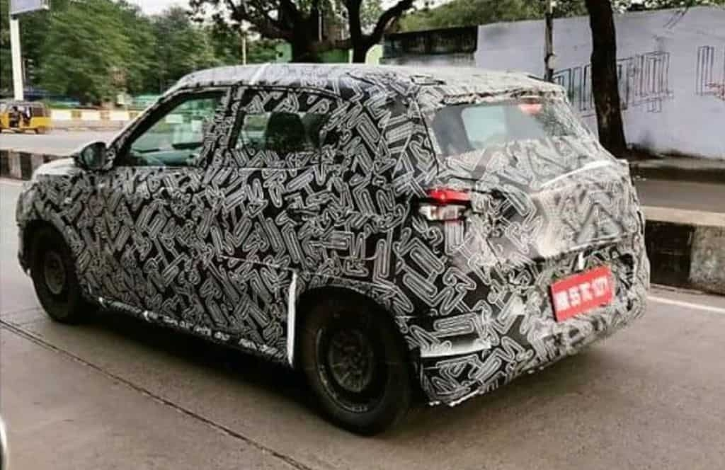Nuova Citroën C3 Sporty ultime foto spia