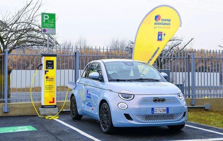 Nuova Fiat 500 Elettrica Europ Assistance