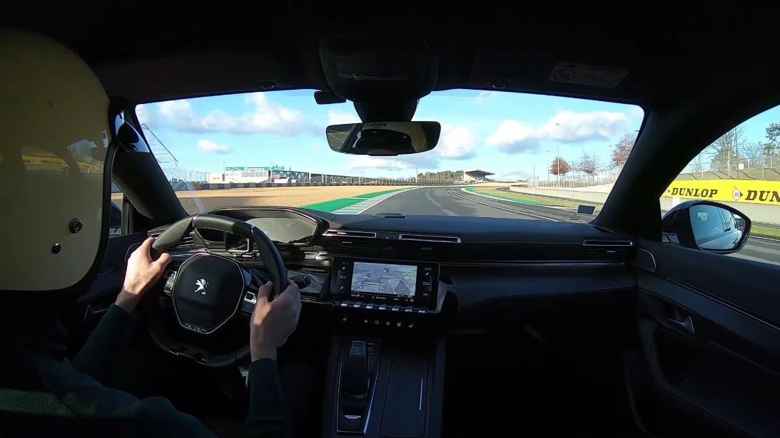 Nuova Peugeot 508 PSE Circuito Bugatti