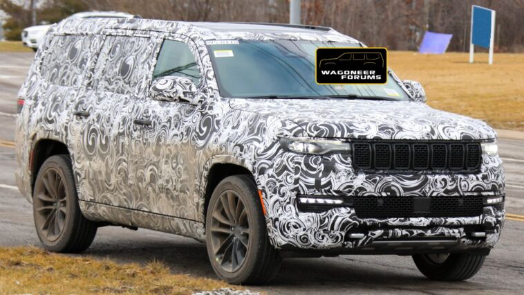 Nuovo Jeep Wagoneer Limited foto spia