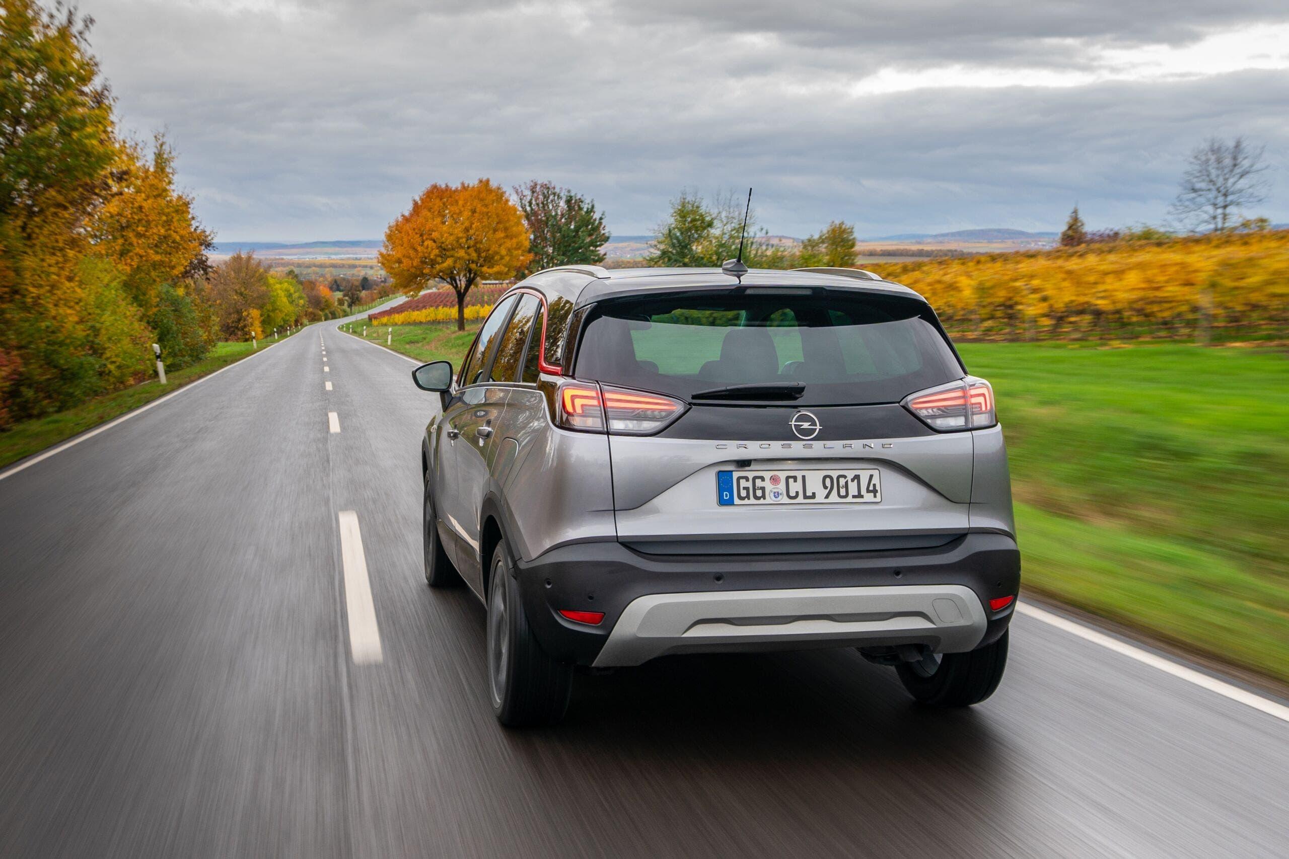 Nuovo Opel Crossland concessionarie italiane