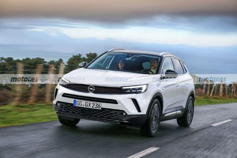 Nuovo Opel Grandland render