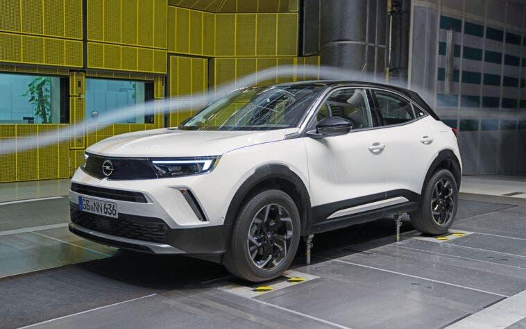 Nuovo Opel Mokka aerodinamica
